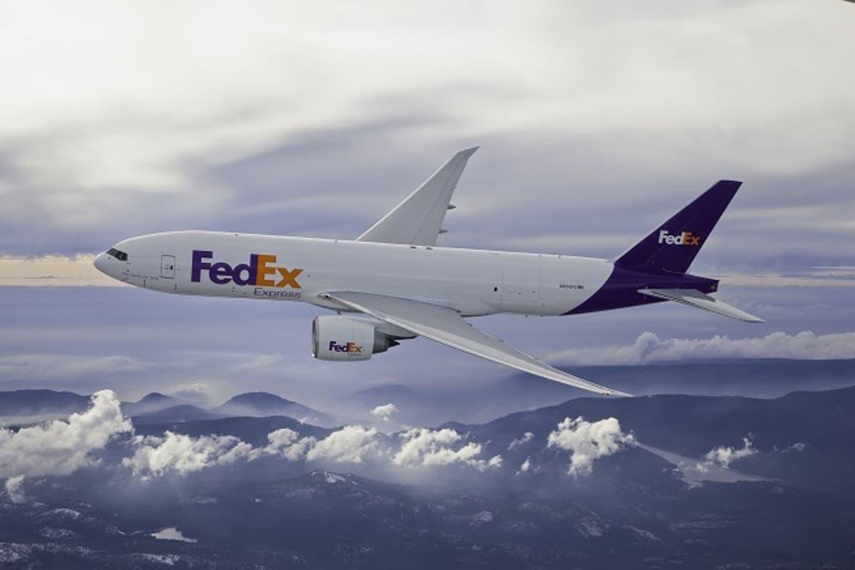 Fedex Celebrates Seven Years Of The B 777f Usa Uae Flight Al Bawaba