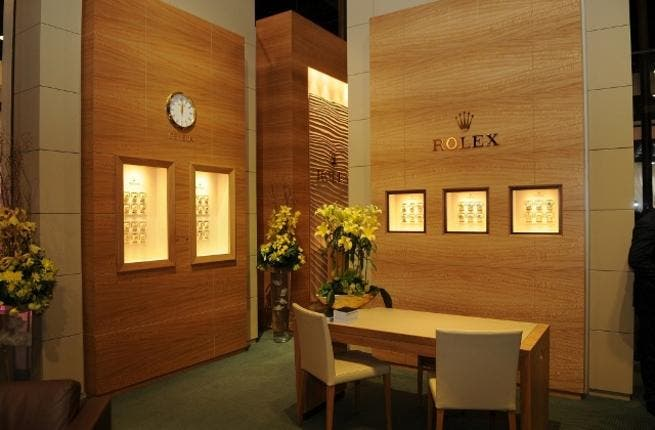 Fifty One East Pavilion Rolex