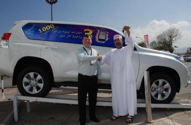 First Nawras winner of Toyota Prado