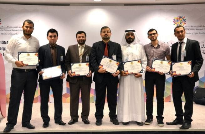 The first place winners