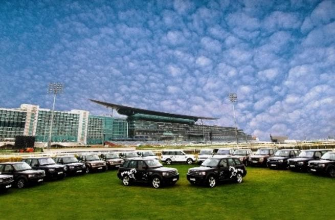 Range Rover is the official vehicle sponsor for the 2011 Dubai World Cup