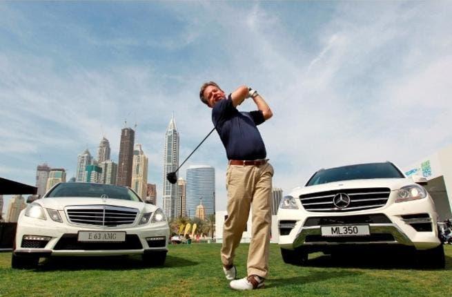 Frank Bernthaler, Director, Sales & Marketing, Mercedes-Benz Cars, ME&L 'Tees-Off' 2012 strategy
