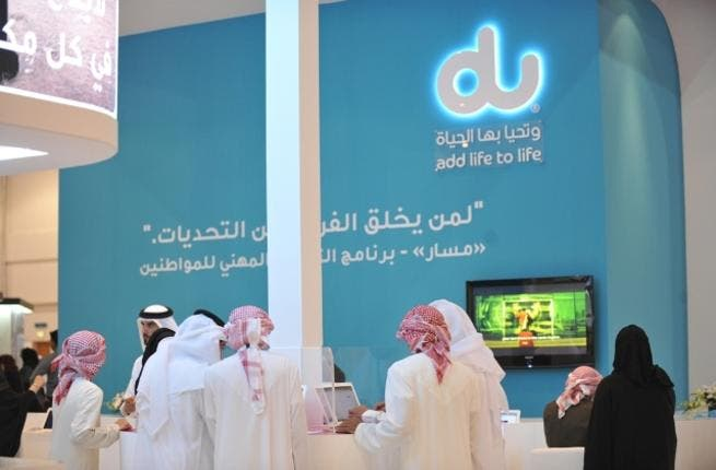 du stand at Tawdheef 2012