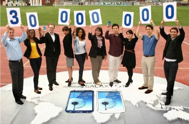 GALAXY S3 30Million milestone