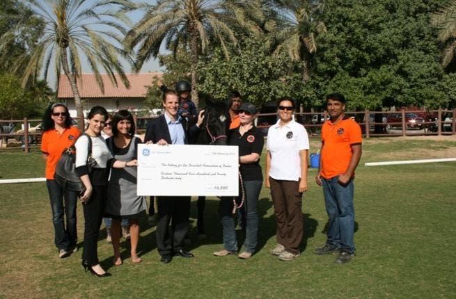 GE Volunteers - Charity run team