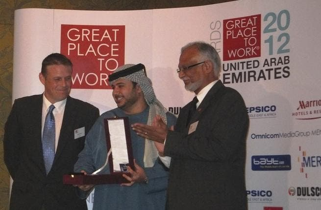 GE recieved award from 'Great Place to Work'