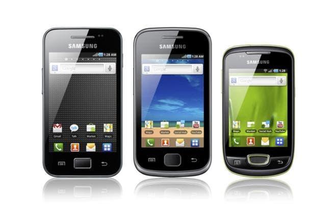 The Samsung GALAXY family
