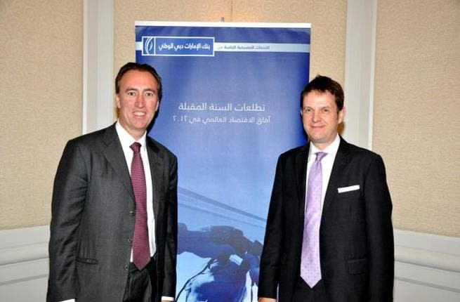Gary Dugan, Chief Investment Officer-Private Banking, Emirates NBD with Mark McFarland,Emerging Markets Economist, Emirates NBD