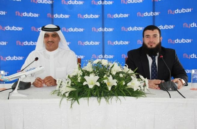 Ghaith Al Ghaith and Jeyhun Efendi at the press conference in Dushanbe