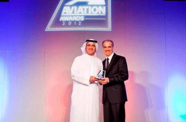 Ghaith Al Ghaith receives the Low Cost Airline of the Year award