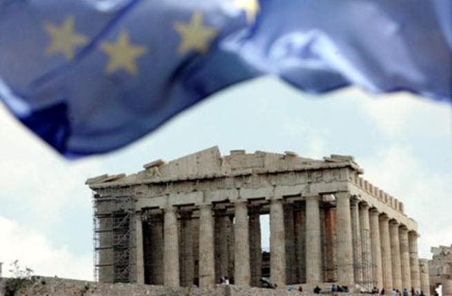 Greece is suffering its deepest recession in 40 years and a default would probably lead banks to freeze lending to other indebted European countries, causing a eurozone debt crisis