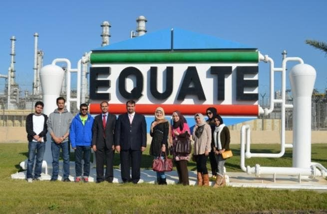 Group Image of EQUATE employees with KU Students