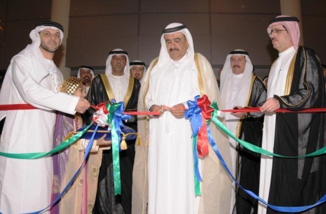 Hamdan bin Rashid inaugurating WETEX 2011 today