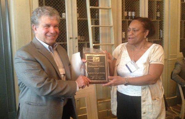 AUC professor Bahgat Korany awarded the Global South 2015 award of the