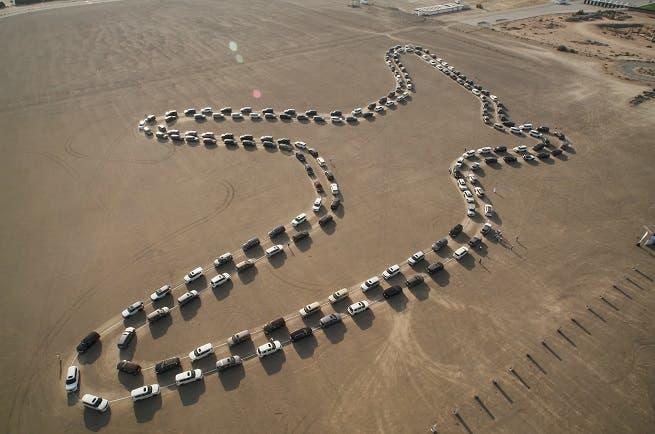نيسان باترول تحطم رقماً قياسياً بموسوعة غينيس العالمية لأكبر موكب رقص متزامن بالسيارات   البوابة