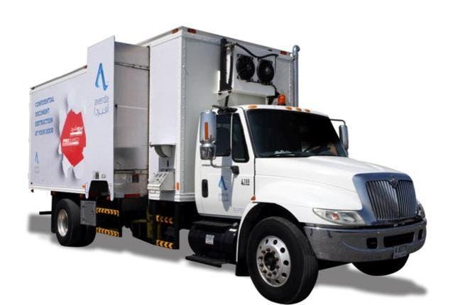 Averda Proshred Truck