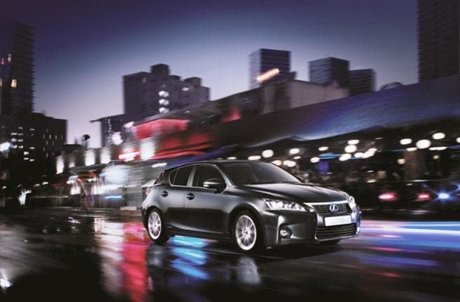 UAE's first compact premium hybrid, Lexus CT 200h