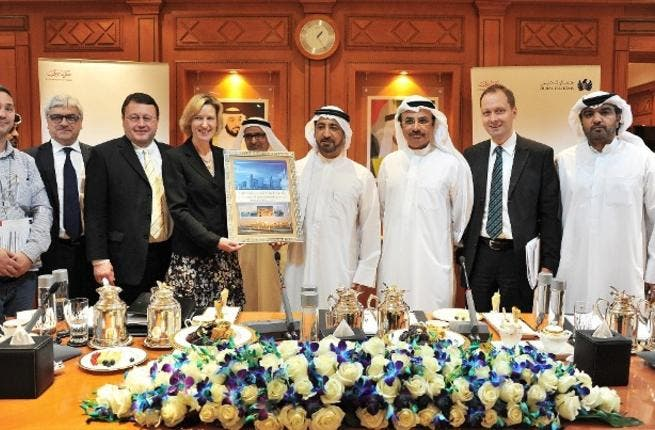 Part of the meeting between Dubai Customs and the European Parliament
