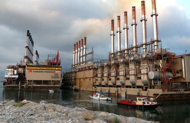 Turkish Power Barge Starts Producing Electricity in Lebanon