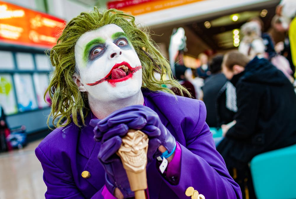 Cosplayer dressed as The Joker from Batman (Shutterstock/File Photo)