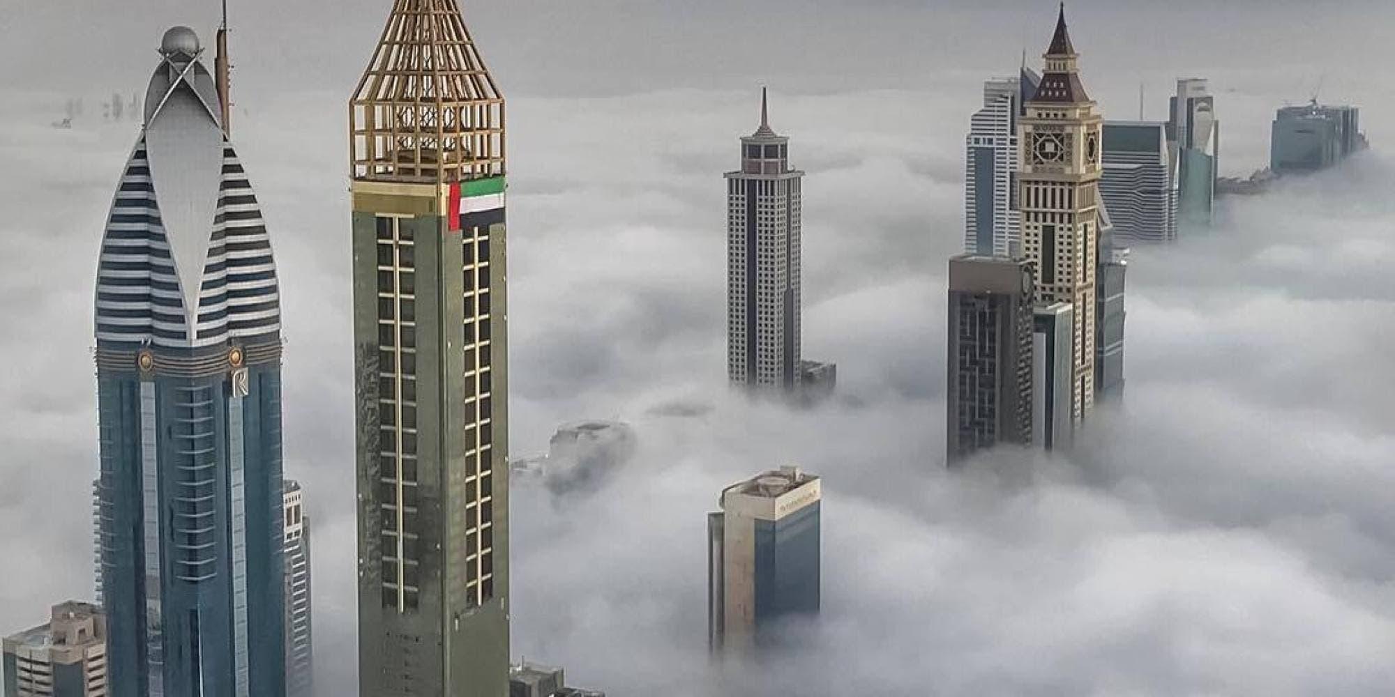بالفيديو:  فزاع  يخترق السحب وينشر سيلفي من أرض الفرص