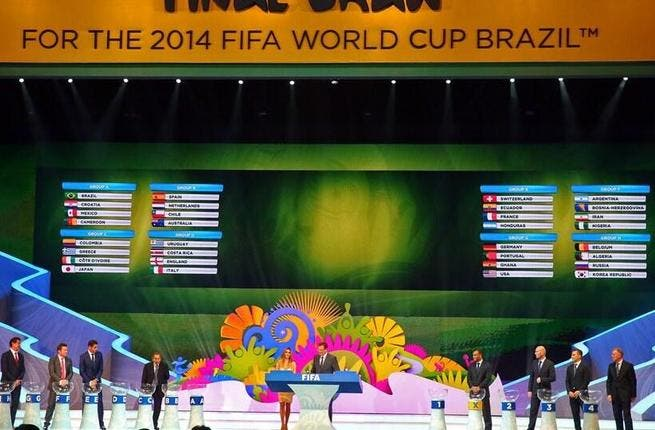 World Cup draw: England face Italy, Holland v Spain