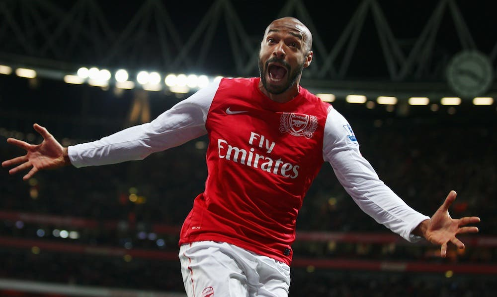 Arsenal signs legend Henry to rescue club's sinking fortunes