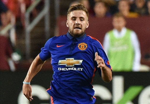 Luke Shaw (Picture courtesy of Goal.com)