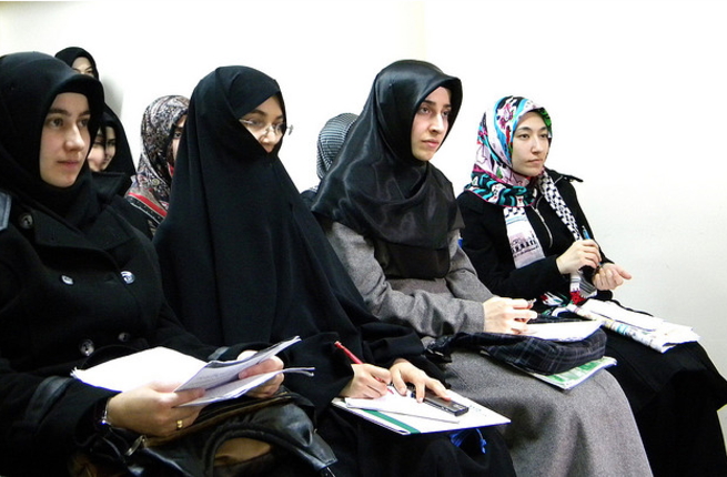 Turkey lifted its almost 90-year ban on women wearing headscarves in state institutions Tuesday (Courtesy of Ajib)