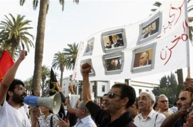 Moroccans protested in Rabat Sunday after gas prices increased under the controversial indexation system (Courtesy of Voice of America)