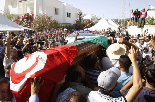 Opposition leader Mohamed Brahmi's assasination in July launched Tunisia into political turmoil (Courtesy of Voice of America)