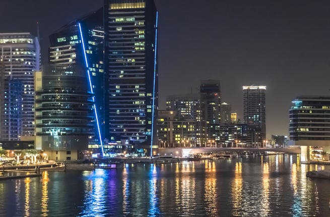 Real estate is one of the key sectors driving Dubai's growth. (Image credit: Shutterstock)