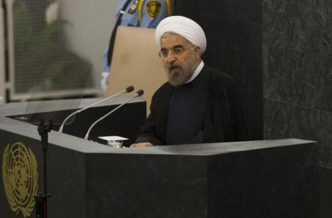 Iranian President Rouhani says settling the nuclear file with the West and Israel is one of his main responsibilities as the head of government (AFP)