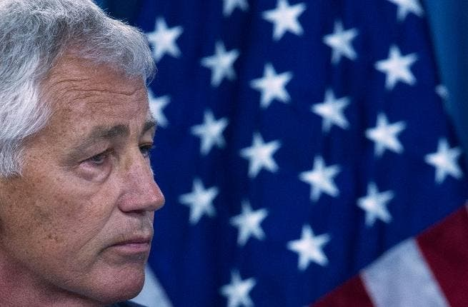 US Secretary of Defense Chuck Hagel. AFP Photo/Paul J. Richards