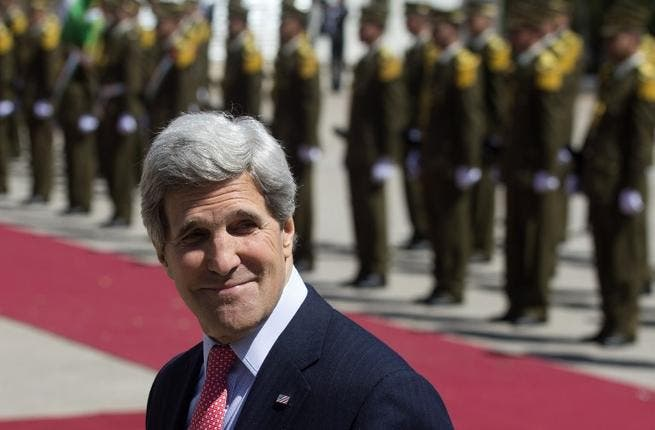 John Kerry is visiting the Middle East