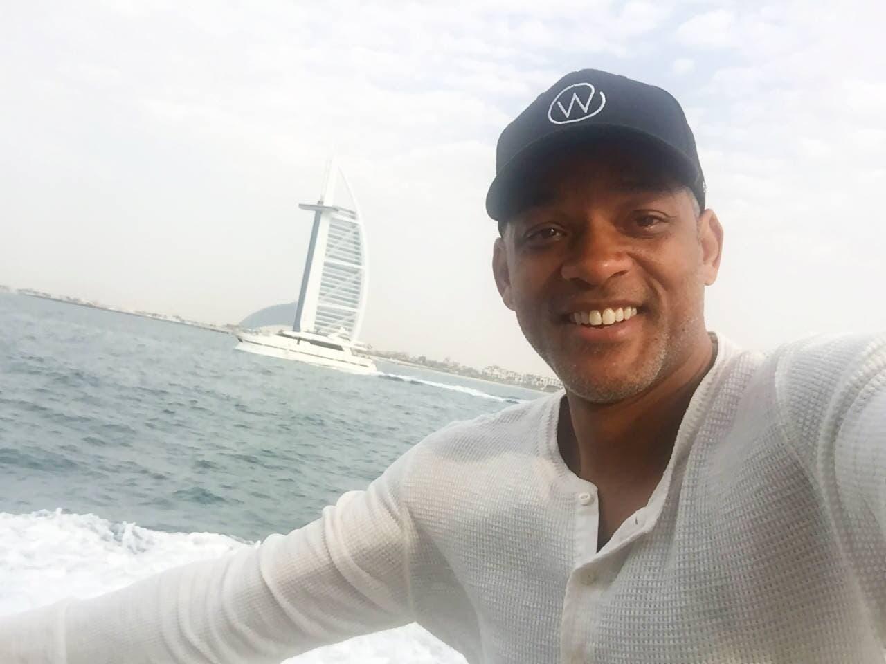 نتيجة بحث الصور عن Will Smith + Dubai