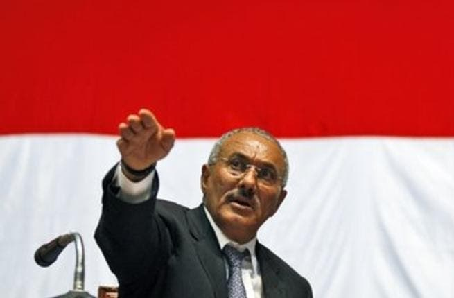 Former Yemen President Ali Abdullah Saleh