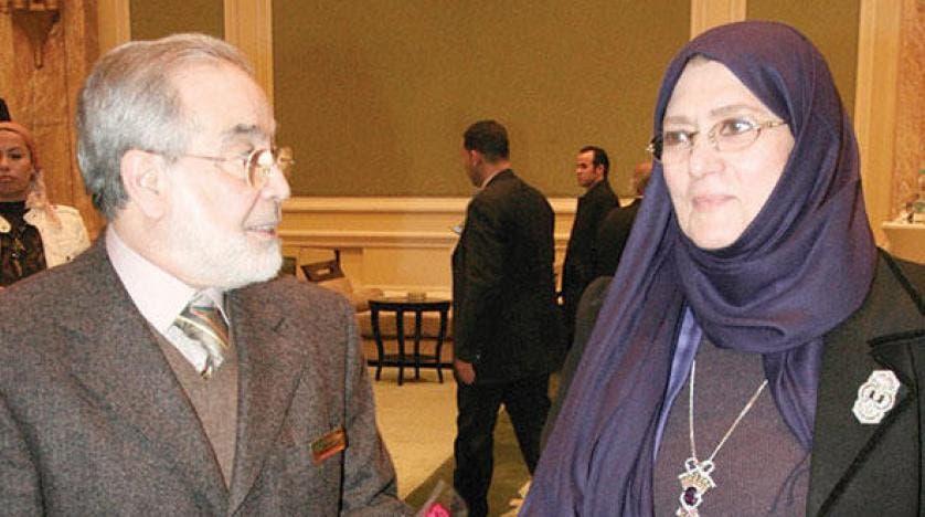 الفنان حسن يوسف يعلّق على خبر وفاة زوجته شمس البارودي