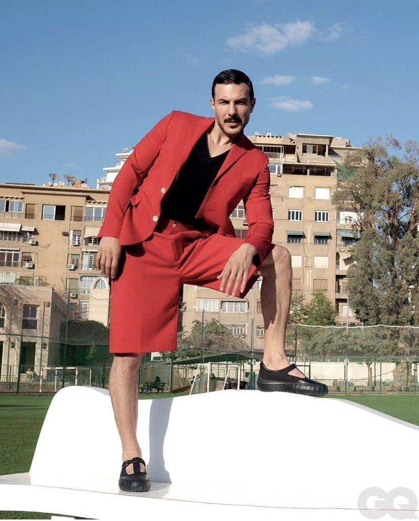Bassel Khaiat basil khayyat photoshoot feminine fashion