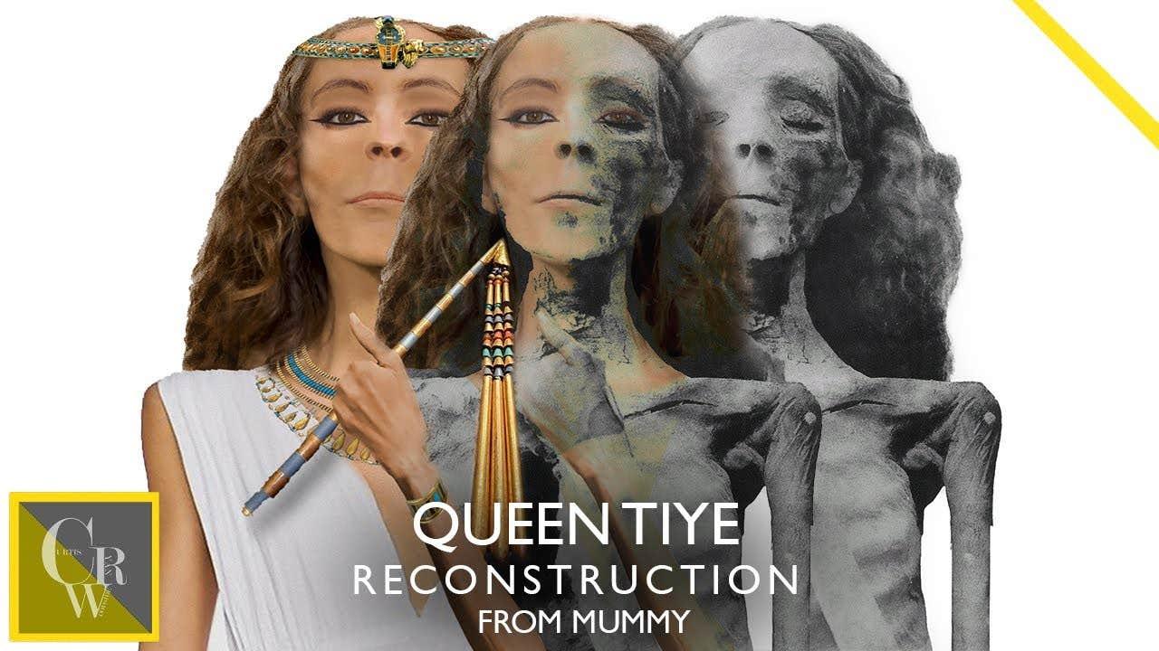 queen tiye face reconstruction