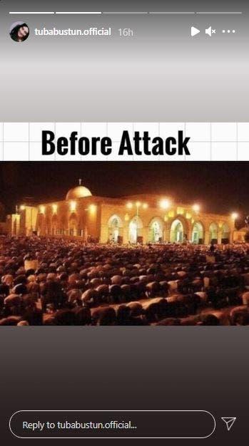 """""""Tuba Büyüküstün buyukustun Palestine Alaqsa Mosque Sheikh Jarrah neighborhood"""""""