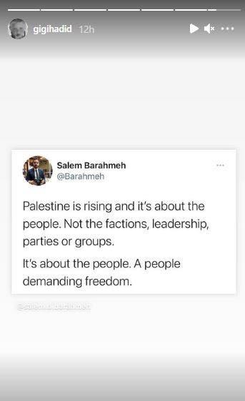 gigi hadid palestine sheikh jarrah