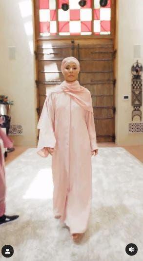 Jada Pinkett Smith religion hijab convert Islam turban hair loss