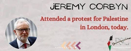 Jeremy Corbyn palestine sheikh jarrah
