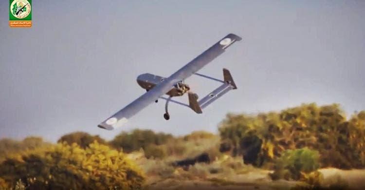 القسام تبث فيديو لاستهداف مصنع كيماويات إسرائيلي بطائرة مسيرة
