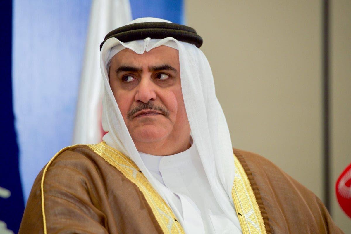 """وزير خارجية البحرين ينتقد الفلسطينيين ويمتدح """"انسانية"""" اسرائيل ويدافع عن """"حقها"""" بالوجود"""