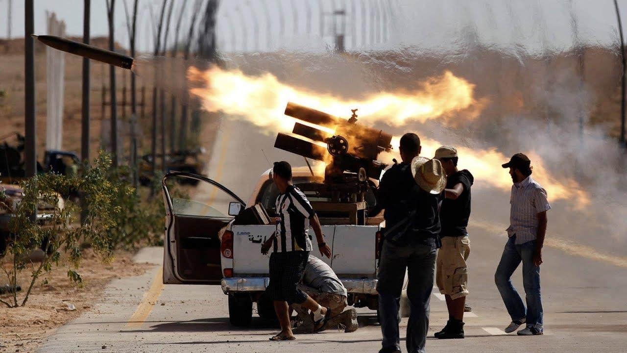 حكومة الوفاق تهاجم تهاجم تجمعات لقوات حفتر قرب طرابلس