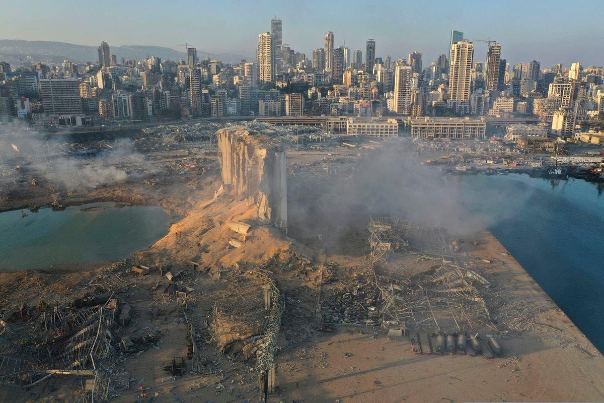 تواصل البحث عن 9 مفقودين جراء انفجار بيروت