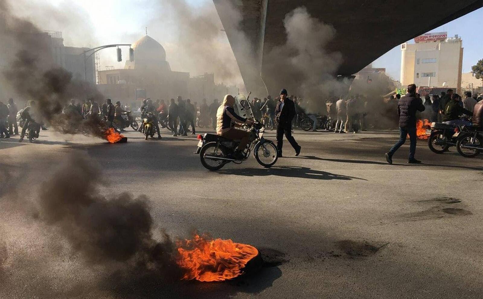 """ايران: """"الصهاينة وأميركا والسعودية"""" وراء الاضطرابات"""