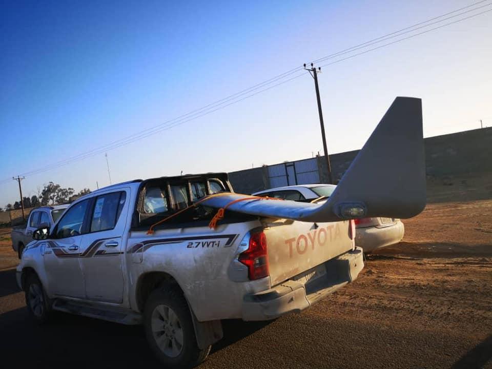 حكومة الوفاق تعلن إسقاط طائرة مسيرة لقوات حفتر في مصراتة